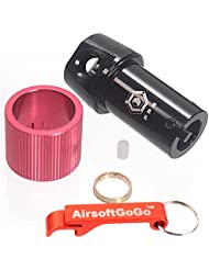 SVD C?mara hop up ( 7075 Aluminio) para A&K Dragunov Airsoft SVD ( Bolt Action ) - AirsoftGoGo Llavero Incluido
