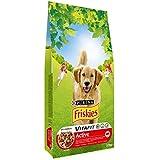 Friskies Chien Active Croquettes pour chien adulte Mix Viandes 10 kg