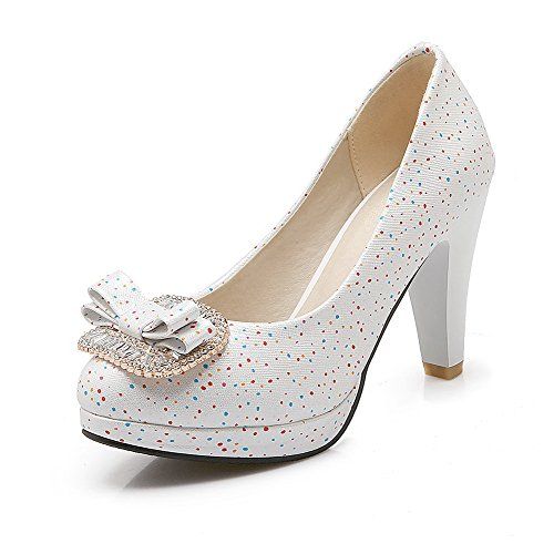 allhqfashion-womens-pu-polka-dots-pull-on-round-closed-toe-high-heels-pumps-shoes-white-41