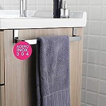 OXEN 321054 Toallero sin taladros para mueble de baño ...