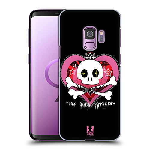 Punk-rock-tasten (Head Case Designs Rock Punk Kollektion Ruckseite Hülle für Samsung Galaxy S9)