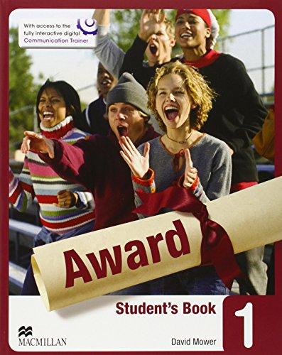 AWARD 1 STUDENT PACK INGLES 2014 MCMILLA