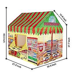 fourseasons Spielzelt für Kinder Kinder Mädchen Jungen Fruchtmuster Prinzessin Spielhaus Rollenspiel Haus für Kinder Indoor im Freien Kinderzelt Kids Playhouse Play Tent