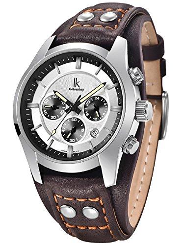 alienwork-montre-quartz-multifonction-quartz-vintage-sport-cuir-blanc-brun-k008ga-04