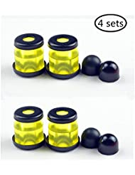 Skateboard longboard Truck Bushings Gommes HR-90A with washers and pivot cups 4-Sets