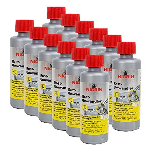 Preisvergleich Produktbild 12x NIGRIN 74032 Rostumwandler 200 ml