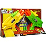 Buzz Bee Toys Air Warriors Tek 4 Blaster Two Pack