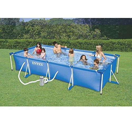 le 10 migliori piscine fuori terra da giardino su amazon. Black Bedroom Furniture Sets. Home Design Ideas