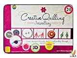 #3: Paper Quilling jewellery making kits for both kids as well as adults Creative Fun