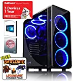 ADMI GTX 1050 Ti GAMING PC: High-End Gaming Desktop Computer: AMD Piledriver FX-8300 8 Core 4.2GHz Turbo CPU / NVIDIA GeForce GTX 1050 Ti 4GB GDDR5 4K Graphics Card / 8GB 1600MHz DDR3 RAM / 1TB Hard Drive / 500W PSU Bronze Rated / HD Audio / USB 3.0 / HDMI/4K Ultra HD Support / CIT Blaze Gaming Case / Pre-Installed with Windows 10