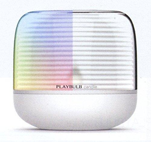 Mipow Playbulb Candle S Vela Bluetooth con Luz LED, 0.04 W, Blanco, 9.2 x 9.2 x 8.9 cm