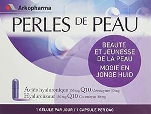 Arkopharma Perles de Peau Acide Hyaluronique 150mg + Coenzyme Q10 30 mg 30 Gélules
