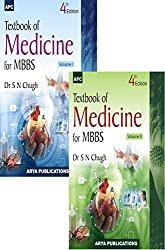 Textbook of Medicine for MBBS (Set of 2 Volumes)