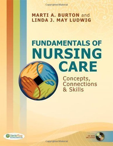 Fundamentals of Nursing Care: Concepts, Connections & Skills (Clinical anesthesia) 1st (first) Edition by Burton RN BS, Marti, Ludwig RN BS MEd, Linda published by F.A. Davis Company (2010) Paperback