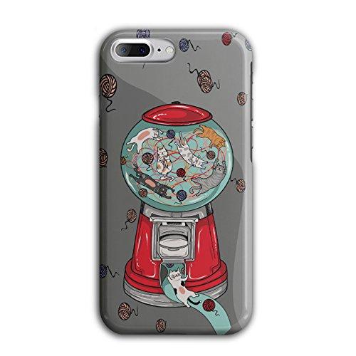 Wellcoda Gumball Maschine Hülle für iPhone 8 Plus Chaos Rutschfeste Hülle - Slim Fit, komfortabler Griff, Schutzhülle - Gumball Maschinen