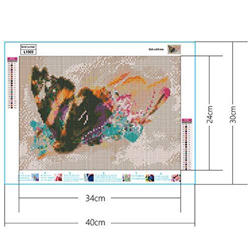 Huaya 5D Diamant Malerei Voll Quadrat Bohren Stickerei Strass Eingefügt DIY