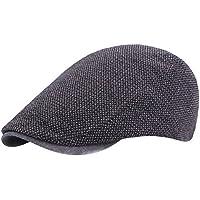 ee840dbc79c68 Gespout Sombreros Gorras Boinas para Paño Hombres Mujer Cómodo Vaquero Protección  Solar Viaje Sombrero de Playa