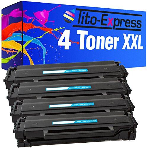 Preisvergleich Produktbild PlatinumSerie® 4x Laser-Toner XXL kompatibel zu Samsung MLT-D111S Xpress M2020 M2020 W M2021 M2021 W M2022 M2022 W M2026 SL-M2000 Series SL-M2022 SL-M2022 W SL-M2026