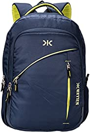 Killer Louis 38L Large Laptop Backpack With 3 Compartments Polyester Trendy Waterproof Travel Backpack
