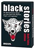 moses. black stories Dark Tales Edition | 50 rabenschwarze Rätsel | Das Krimi Kartenspiel