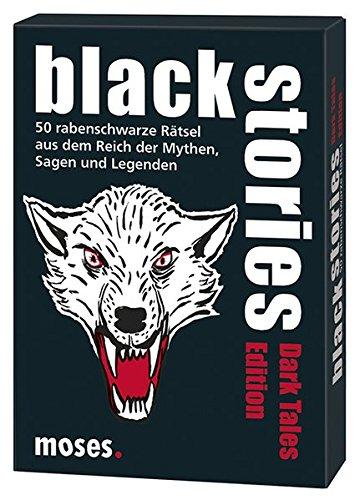 moses. black stories Dark Tales Edition   50 rabenschwarze Rätsel   Das Krimi Kartenspiel
