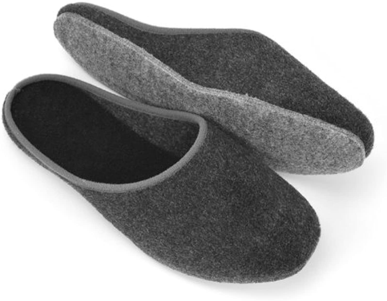 Zapatillas de fieltro sentían únicos