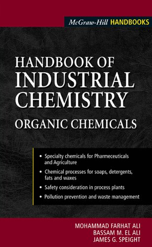 Handbook of Industrial Chemistry: Organic Chemicals (McGraw-Hill Handbooks)