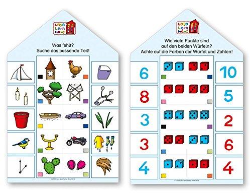 Logo Lernhaus / Mein Lernsteckspiel: Spielen - Lernen - Kontrollieren: Logo Lernhaus: Kartenset Kinderwissen