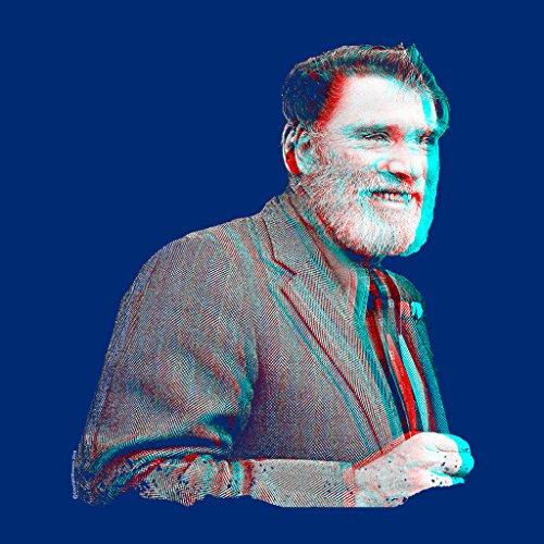 Burt Lancaster 1973 3D Effect Women's Hooded Sweatshirt Royal Blue
