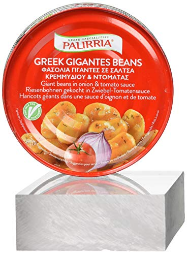 Palirria Riesenbohnen  gekocht in Zwiebel - Tomatensauce, 1er Pack (1 x 280 g)