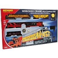 Mehano- Wrecker Crane Juguete de modelismo ferroviario, Multicolor (MEHANOT741)