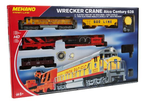 Mehano T741 H0 Start-Set Güterzug Wrecker Crane Modelleisenbahn