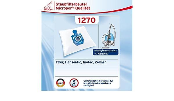 Twist; Vlies Beutel mit Plastikverschluss 20 Staubsaugerbeutel für Zelmer Orion