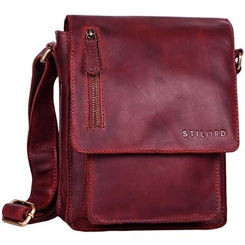 STILORD 'Finn' petite sac a bandouliere pour hommes / Vintage