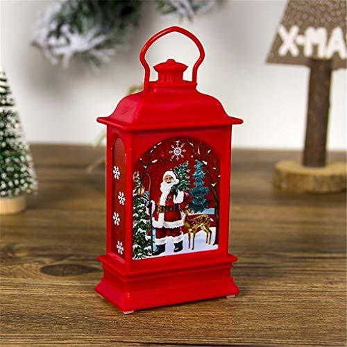 Weihnachtslicht LED Lichterkette Weihnachtsschmuck Gemalt Tragbare Weihnachtsbeleuchtung Licht Ornamente Craft Home Decor Hanging Pendant Teil Auß Hnliche Beleuchtet Adventsschmuck