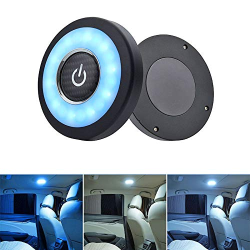 Aoile Auto Leselampe LED Auto Rücksitz Deckenleuchte Kits Blue and white 6471 -