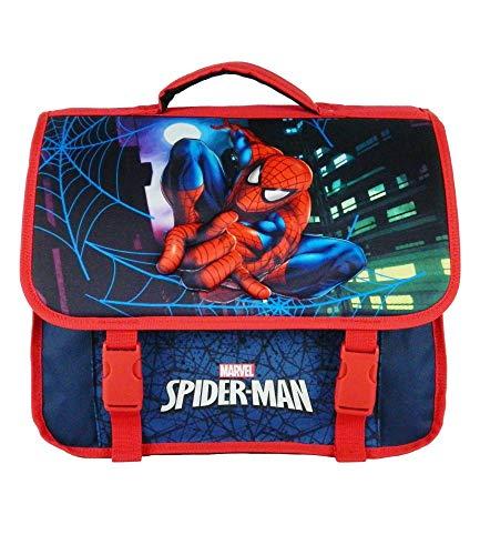 Cartable 38CM Bleu Marine-Spiderman Marvel