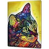 Blechschild Katze Rasse Löwe Reklame & Werbung für Sammler