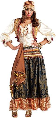 Imagen de disfraces chiber  disfraz de zíngara pícara para mujer adulta s  pequeña