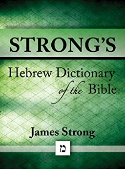 Strong's Hebrew Dictionary of the Bible (Strong's Dictionary Book 2) by [Strong, James]