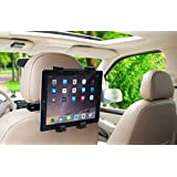 """Okra 360° Degree Adjustable Rotating Headrest Car Seat Mount Holder For iPad, Samsung Galaxy,Motorola Xoom, And all Tablets Up To -10.1"""""""