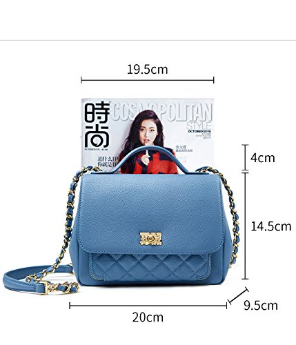 EMINI HOUSE, Borsa a mano donna Small Light Blue