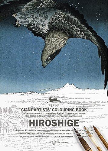 Hiroshige Colouring Book (Giant Artists Colouring Book) por Pepin