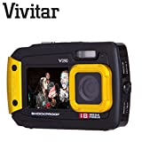 Underwater Digital Camera 18 MegaPixel Dual Screen Selfie Waterproof / Shock Proof /