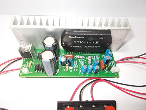 SOUMIK ELECTRICALS STK4141 Amplifier Kit without Bass Treble Board, 400 W