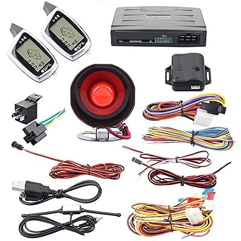 Quality SPY 2 way car security alarm