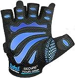 Guantes de gimnasio para hombre Protege tus manos & mejorar su Grip Fácil – Guantes de levantamiento de...