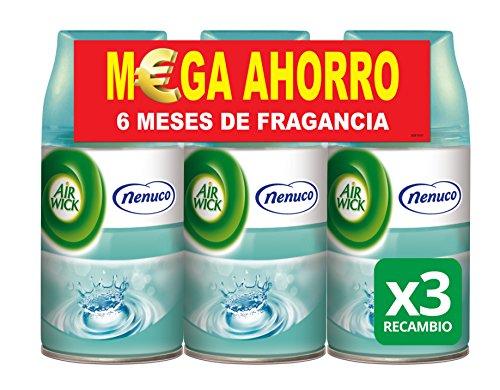 Air Wick Ambientador Freshmatic Recambio - Fragancia Nenuco - Paquete de 3...