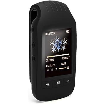 MP3player bluetooth 8GB con clip sport portatile mini lettore Mp3/MP4Music supporto Micro SD Card 32GB max contapassi multifunzione