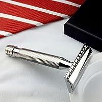 ABOVE THE TIE Windsor ssh1 HEAVY inoxidable pulido Maquinilla de afeitar de seguridad - Cuchillas No